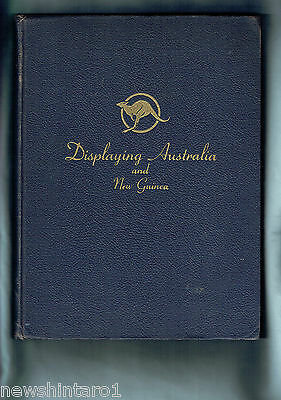 #Ww.   Large 1945  Pictorial  Book On Australia & New Guinea