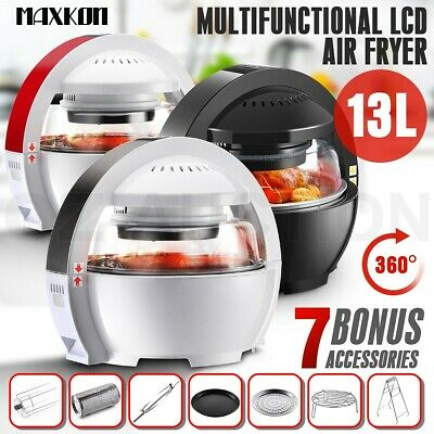 13L Multi LCD Digital Turbo Space Capsule Low Fat Oil free Air Fryer Cooker Oven