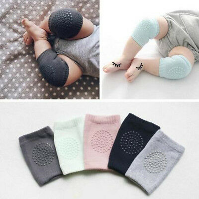 Kids Soft Crawling Knee Pad Elbow Cushion Anti-slip Infant Toddler Baby Safety