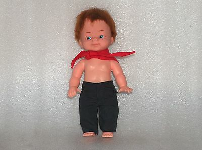 Cute Vintage? Plasty Doll Toy - Boy