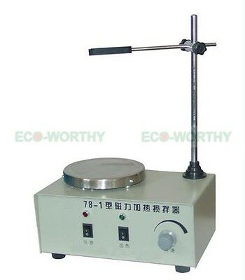 New Heating Hot Plate Hotplate Magnetic Stirrer Mixer Heater Chemical Laboratory