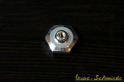VESPA Mutter Tankdeckel - Chrom - V50 PK PX PV ET3 Rally Sprint - Tank Deckel