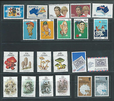 """1981 Australia """"The Collection of 1981 Australian Stamps"""" Complete Set:MUH"""