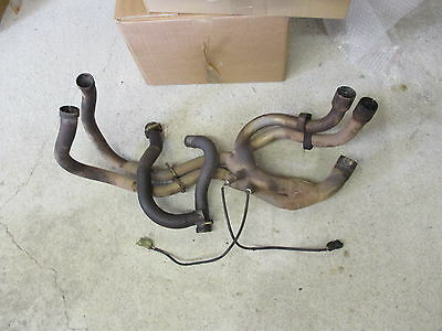 2001 Honda Vfr 800 Aftermarket Exhaust Down Pipes
