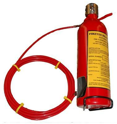 Automatic Fire Extinguisher System (Suppression System)