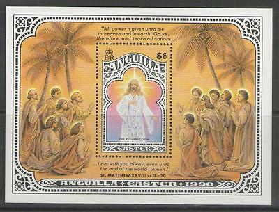 Anguilla Sgms850 1990 Easter Mnh