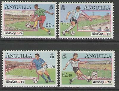 Anguilla Sg949/52 1994 Football World Cup Mnh