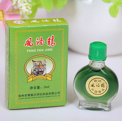 1x Famous TIGER Balm Brand Medicated Oil Pain Relief Refresh 3ml