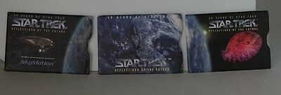 Star Trek 30 Years Reflections Of The Future Skymotion Lenticular 1995 Card`