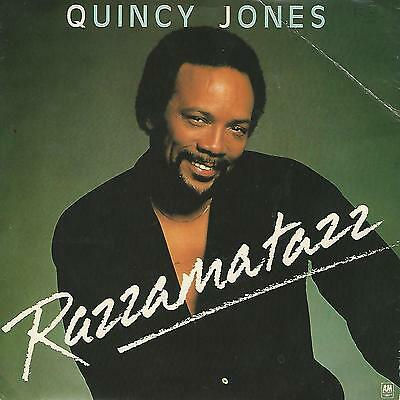 "Quincy Jones ""razzamatazz / Velas""  7"" Press Uk"