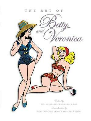 The Art Of Betty & Veronica by Hardcover Book (English)