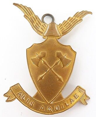 Vintage Churchie Anglican Church Grammar School Large Badge, Nice Condition.