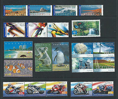 """2004 Australia """"The Collection of 2004 Australian Stamps"""" Complete Set:MUH"""