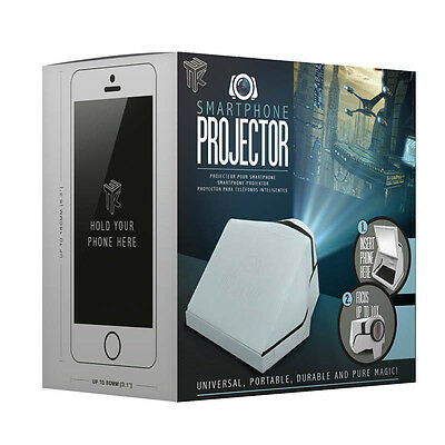 Smartphone Projector Portable Cinema Movie Phone Iphone Novelty Gift Gadget NEW
