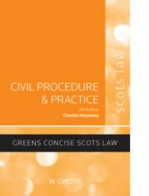 Civil Procedure and Practice (Paperback), Hennessy, Charles, 9780414018792