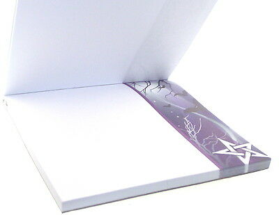 Pentagram Magnetic Note Pad Printed Throughout 50 Pages