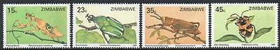 ZIMBABWE MNH 1988 Insects Set