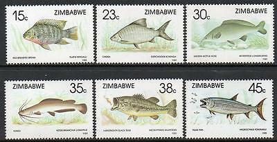 ZIMBABWE MNH 1989 Fish Set