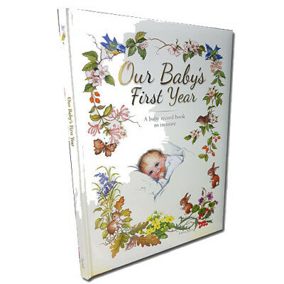 Our Baby's First Year A baby Record Book to Treasure by Yvonne Perrin NEW [HB]