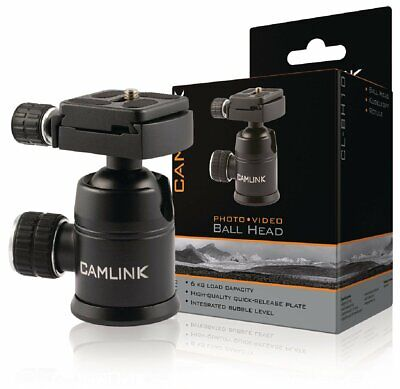 Camlink CL BH10 Ball Head with 6 kg Load Capacity