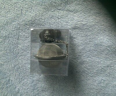 Disney Theme Parks Tea Ball Drink Strainer with Mickey Mouse Icon Handle New