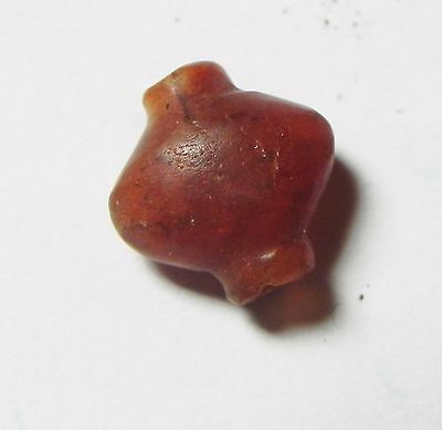 Zurqieh -Af635-  Ancient Egypt, New Kingdom. Carnelian Bead 1400 B.c