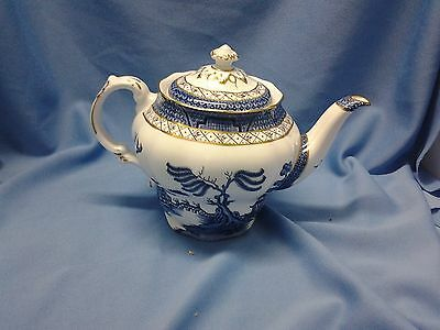 "Booths, ""real Old Willow"" Pattern,  Tea Pot"