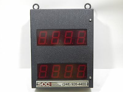 "SCC 801-U-2 Dual 2.25"" Digital Display"