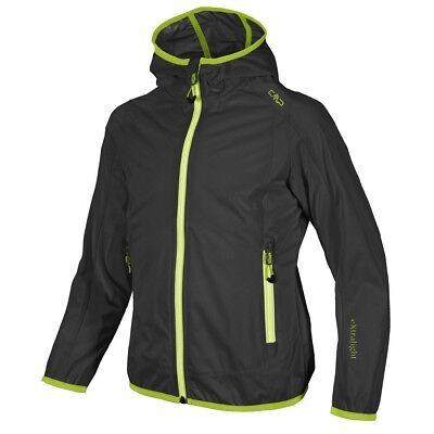 CMP F.LLI Campagnolo Girl Casual Outdoor Softshell jacket With Hoodie black
