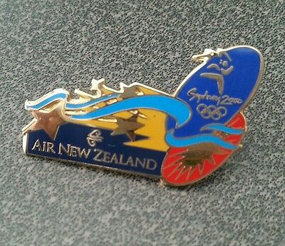 Sydney Olympics 2000  New Zealand Air  Airplane  Airline Pin