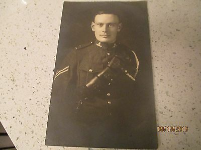Ww1 Canadian Photo Of A Corporal In The Canadian Artillery