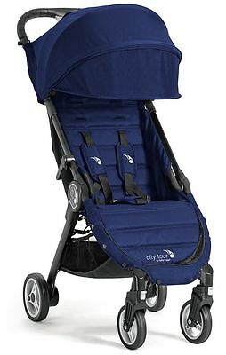 2016 Baby Jogger City Tour Lightweight  Compact Travel Stroller Cobalt with Bag
