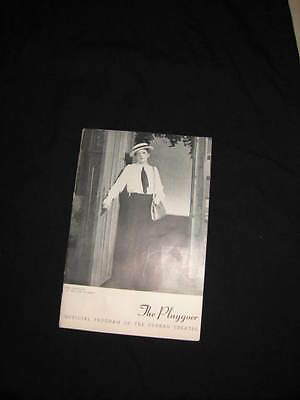 the playgoer ethel barrymore the corn is green curran theatre