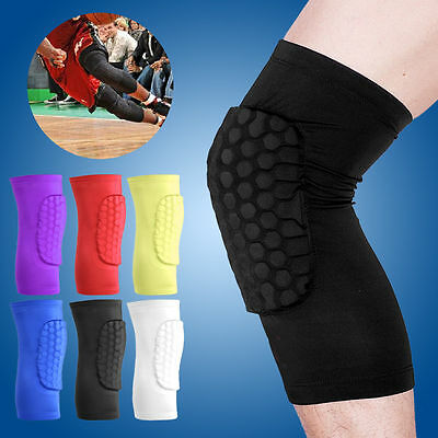 Kids Sports Combat Pad Crashproof Antislip Cycling Leg Knee Short Sleeve Support
