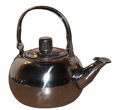1.5 litre stainless steel kettle/teapot campfire outdoors living family