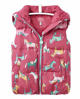 JOULES Willow Riding Horse Hoody Hoodie Gilet Age 2 FreeUKP&P
