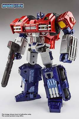 Spark Toy St01 Dw Alpha Pack Optimus Prime Transformers Nuovo New