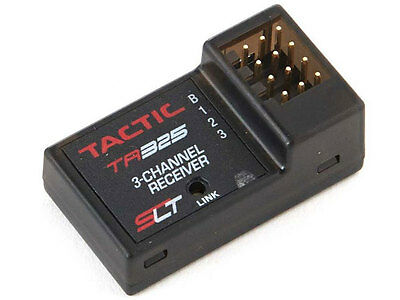 Tactic RC TR325 3Ch 2.4GHz Receiver #TACL0325