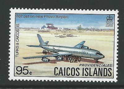 CAICOS IS. SG20 1983 95c BOEING  MNH