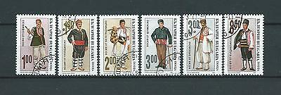 BULGARIE - 1993 YT 3549 à 3554 - TIMBRES OBL. / USED