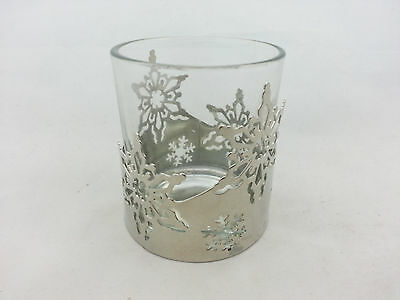 Yankee Candle Holiday Votive Holder - Snowflakes