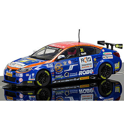 SCALEXTRIC Slot Car C3736 Jack Goff BTCC MG6