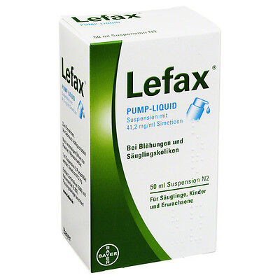 LEFAX Pump Liquid 50 ml PZN: 2563842 (13,26€/100 g)