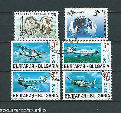 BULGARIE - 1995 YT 3619 à 3624 - TIMBRES OBL. / USED