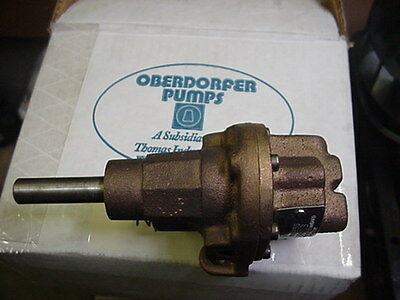 New Oberdorfer Bronze Pedastal Gear Pump N1000-S3
