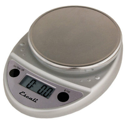 Escali Primo P115C Digital Kitchen Food Scale-Chrome