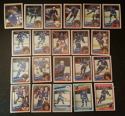 1984-85 OPC QUEBEC NORDIQUES Select from LIST NHL HOCKEY CARDS O-PEE-CHEE