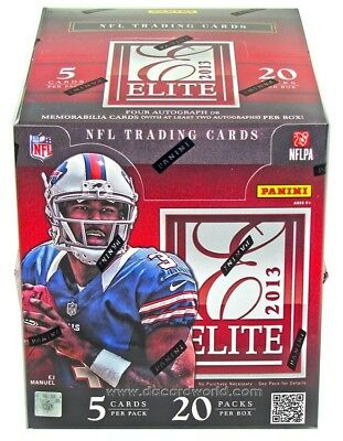2013 Panini ELITE FOOTBALL Hobby Box - Look For Le'Veon Bell Rookie Auto!!