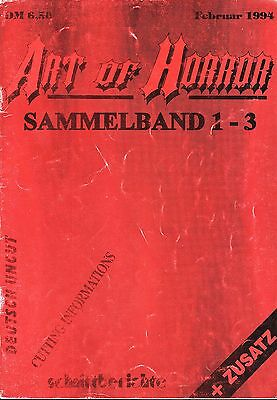 Art of Horror Sammelband Nr.1 / 1994 Enthält Nr.1-3