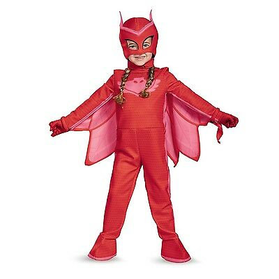 PJ Masks Owlette Deluxe Toddler Child Glow In The Dark Costume | Disguise 17171